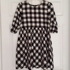 Hanna Andersson Girls Size 160 Flannel Plaid Dress